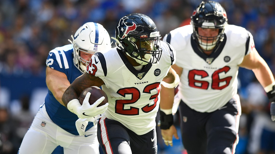 Battle of the AFC South | Texans rally but fall to the Colts 30-23