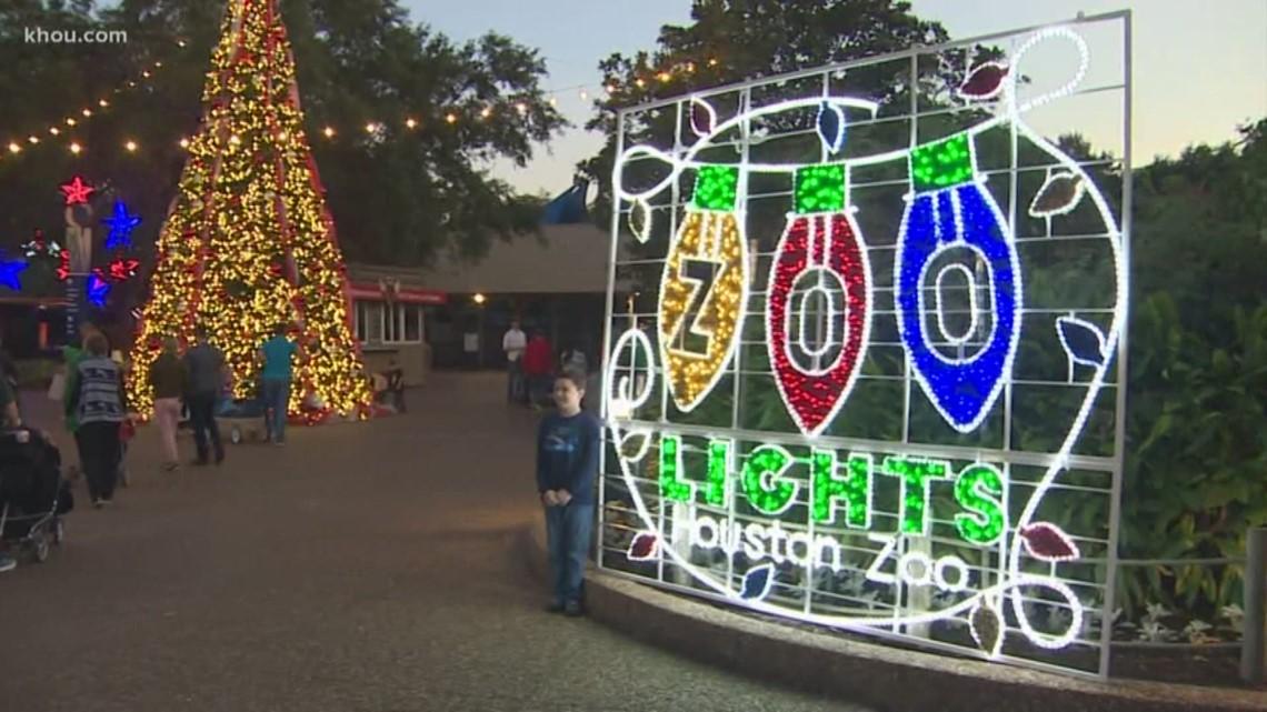 Christmas Festival Houston 2021 Houston Zoo Lights 2020 2021 Runs Nov 14 To Jan 10 Khou Com