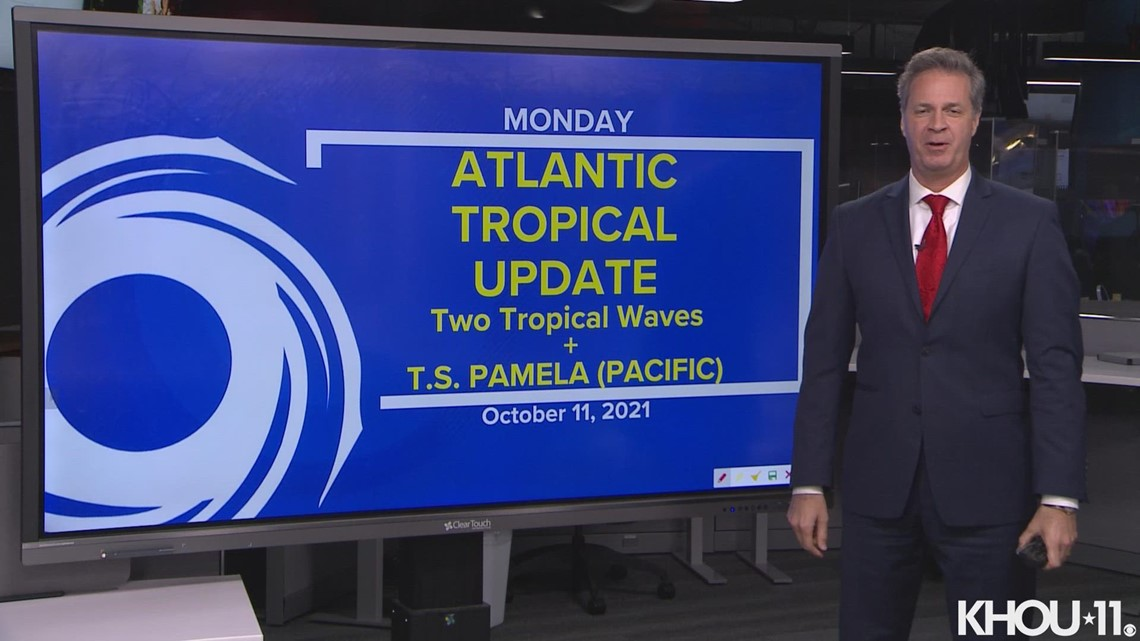 Tropical update: 2 tropical waves and Tropical Storm Pamela (Pacific)