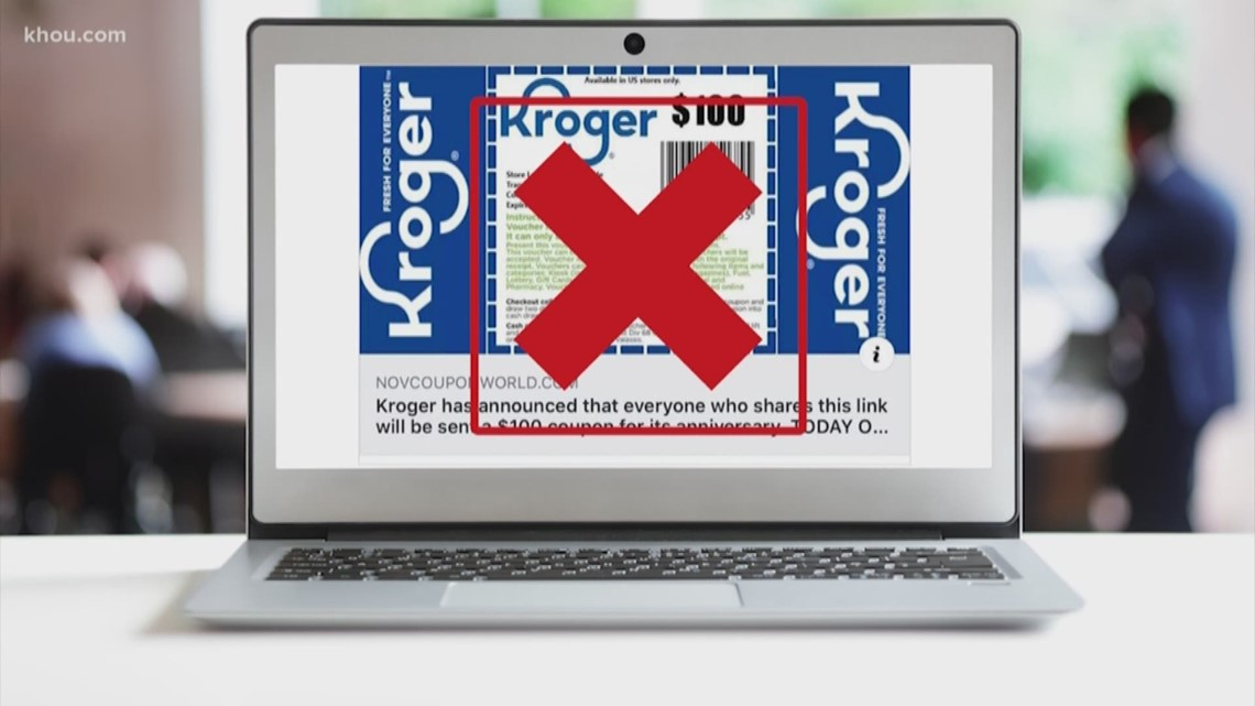 VERIFY: The Kroger $100 coupon is fake