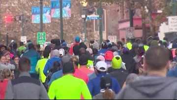 Thousands expected to participate in grueling marathon downtown