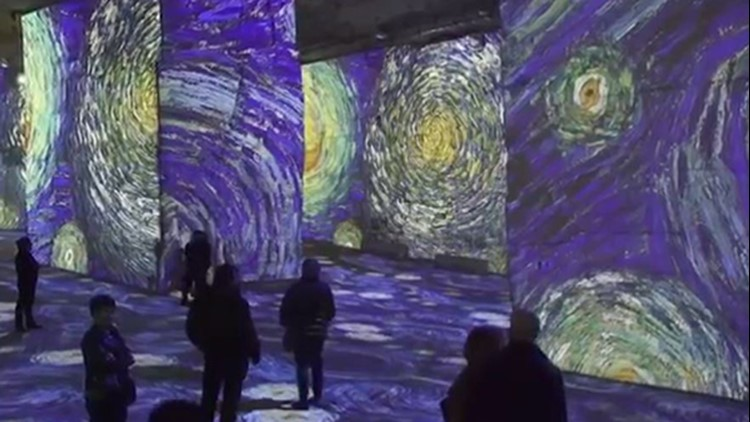 Stroll through masterpiece paintings when Immersive Van Gogh exhibit arrives in Houston this summer