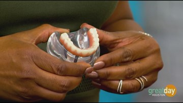 Dr. Pratik Vakil with Smile 32 Dentistry explains options for teeth implants