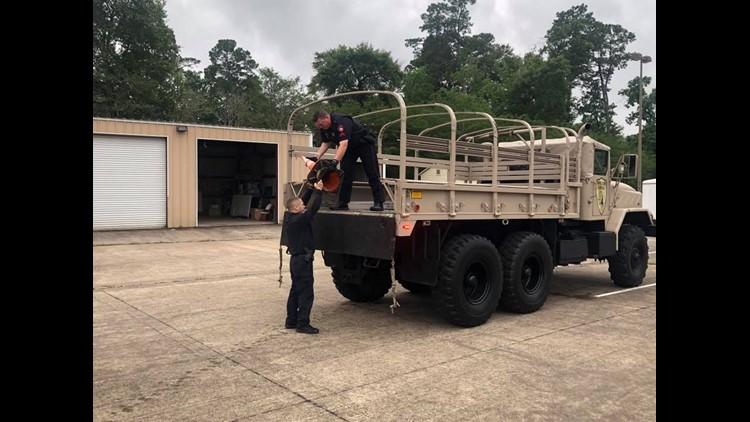 Precinct 4 high water rescue equipment