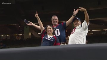 Texans fans travel to New Orleans for first regular season game against Saints