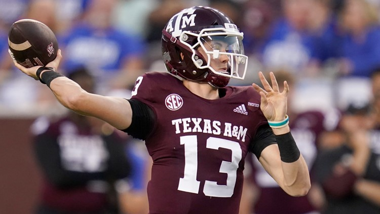 No. 6 Texas A&M starts season with rout of Kent State