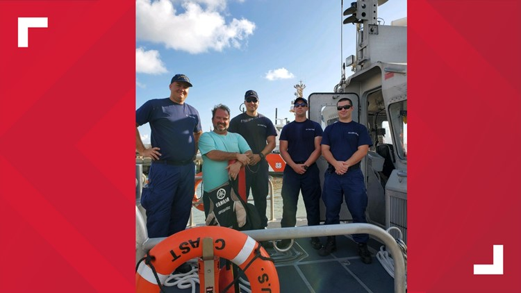 Crystal Beach rescue