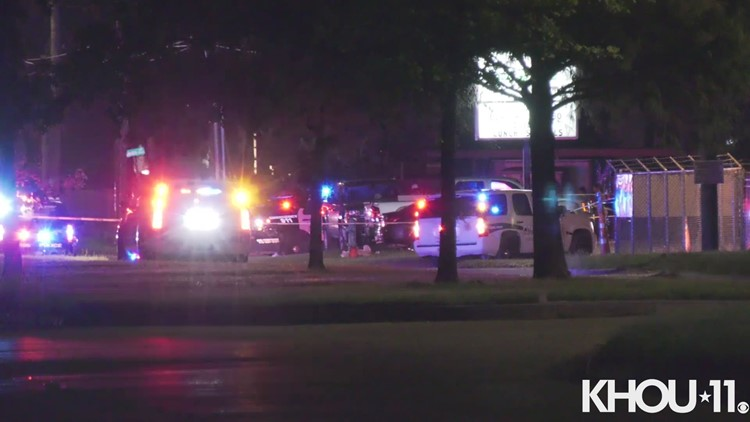 Raw video: 4 shot in drive-by in NW Harris County, Constable Rosen says