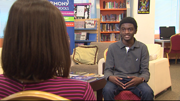 Tomball teen accepted to 15 colleges, credits dad for discipline, motivation