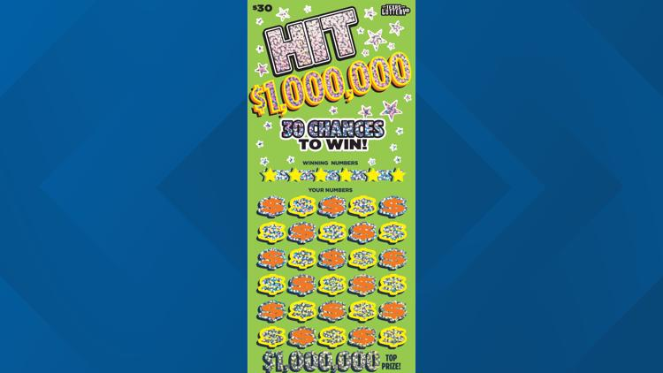 Another Houstonian wins $1 million on a scratch-off ticket game