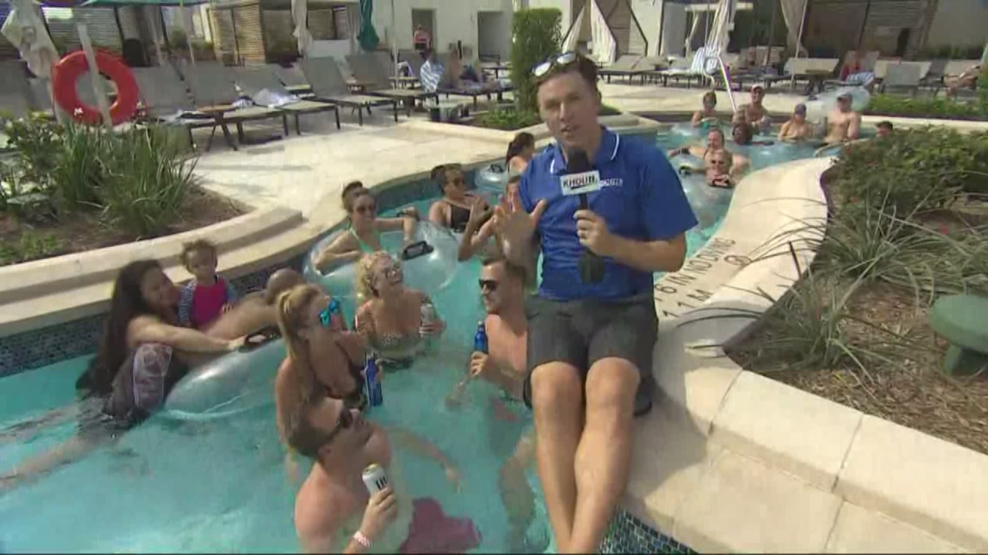 World S Only Rooftop Texas Shaped Lazy River Now Open To Public In Houston Khou Com