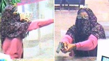 Violent, niqab-wearing 'Springtime Suspect' wanted by FBI in bank robbery