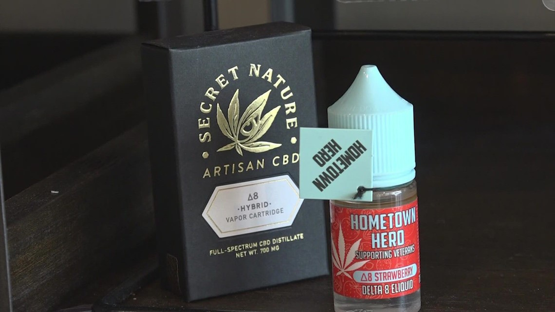 Delta-8 THC products now considered illegal in Texas
