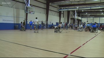 Youth group organizes basketball tournament to include teens with disabilities