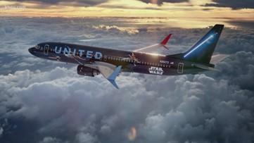 United's Star Wars plane takes flight from Houston