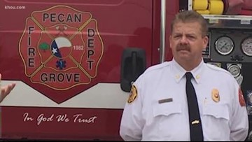 More than $12,000 raised for Pecan Grove fire chief fighting cancer