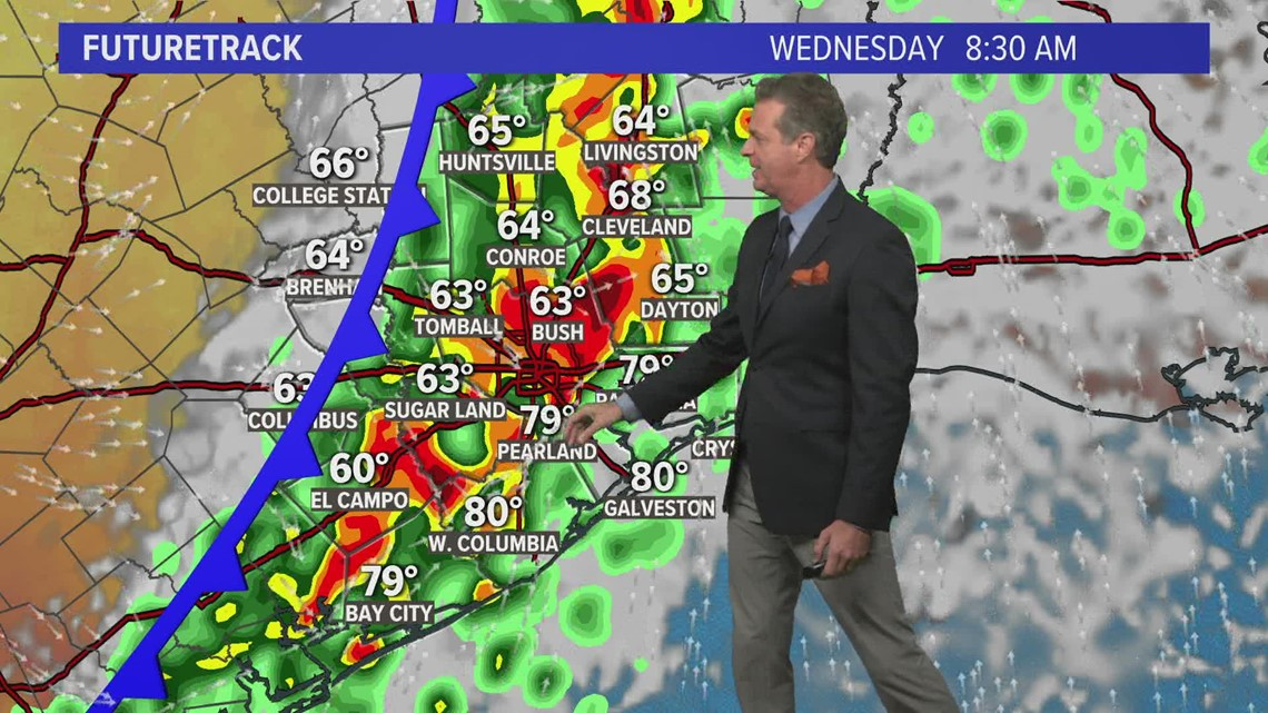Houston forecast: Cold front heading our way