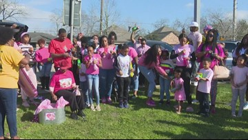 Maleah Davis' birthday celebrated at Sunnyside Park