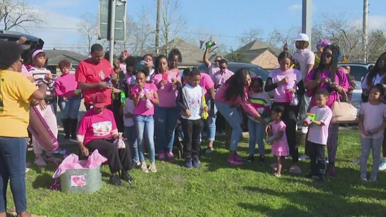 Maleah Davis' birthday celebrated at Sunnyside Park