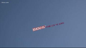 KHOU 11 takes support for the 'Stros to the skies