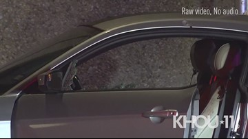 Raw: Investigation into double shooting along Southwest Freeway in southwest Houston