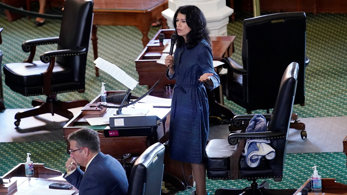 State Sen. Carol Alvarado on her 15-hour-long filibuster: Goal was to shine 'very bright spotlight on what's taking place'