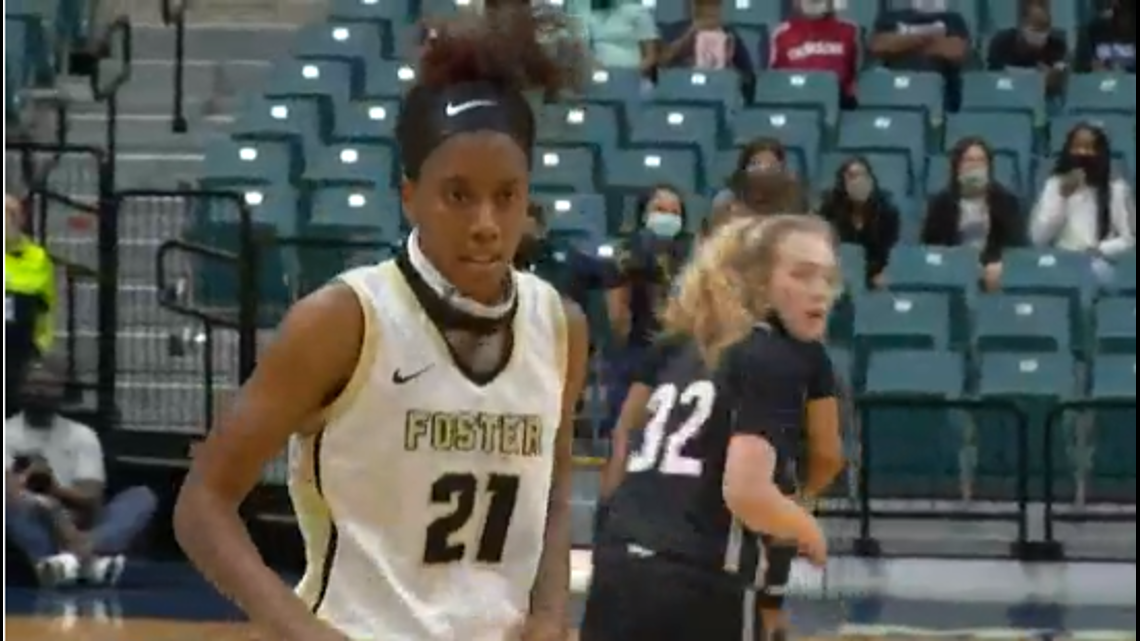 'She was the perfect fit for Foster basketball'   Kaiya Wynn's had major impact on the LCISD program