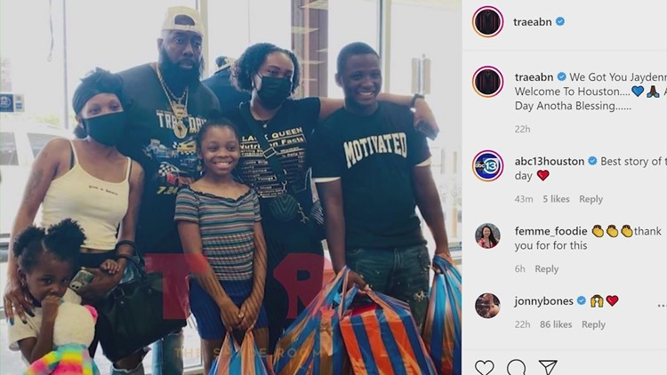 Teen selling water bottles for school clothes treated to shopping spree by Trae Tha Truth