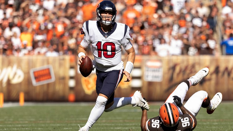 Houston Texans rookie Davis Mills to start at QB Thursday against Panthers