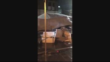 VIEWER WEATHER: Storm damage in Galveston