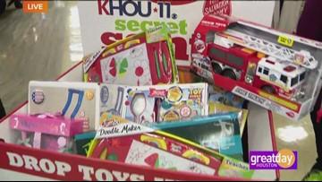 KHOU's annual Secret Santa Toy Drive at Randalls
