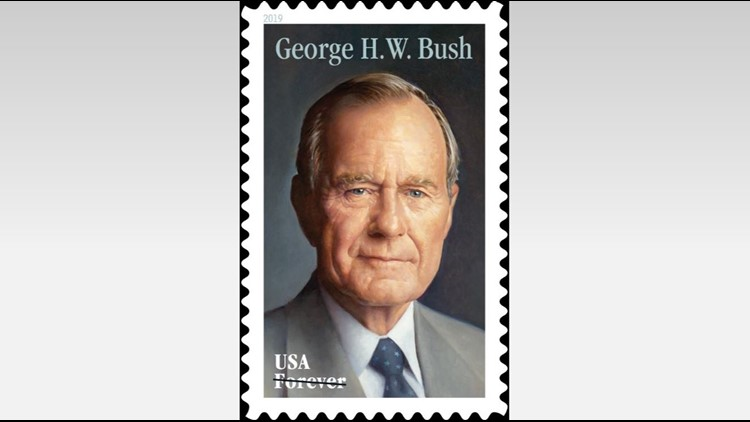 Image result for george hw bush forever stamp