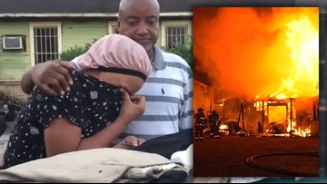 Family loses back-to-school clothes, supplies during overnight house fire