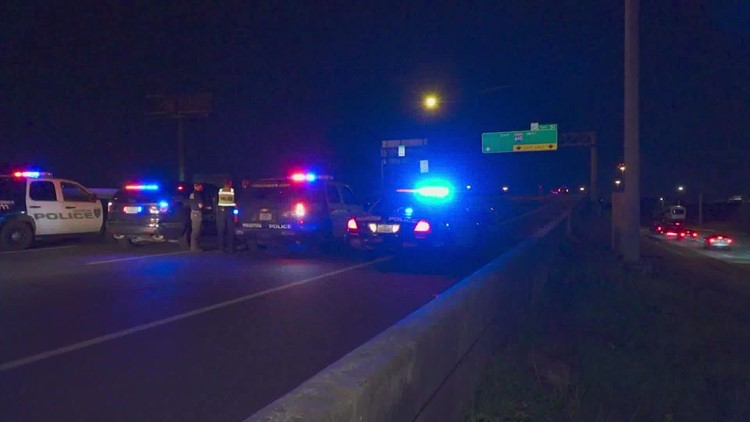Man fatally hit after stepping out of stalled pickup truck on North Freeway, police say