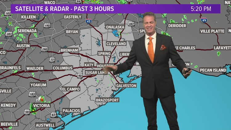 A Few Scattered Storms Through The Weekend