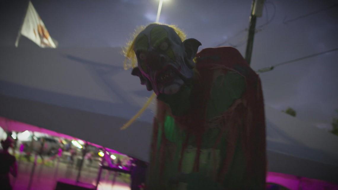 WATCH: Terrifying Tour through Houston Terror Dome