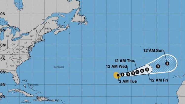 We have Subtropical Storm Theta...and a new Atlantic hurricane season record
