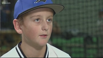 Rare medical procedure helps young ball player return to field
