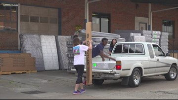 Houston Children's Charity, Texas Mattress Makers give brand new beds to 250 deserving children