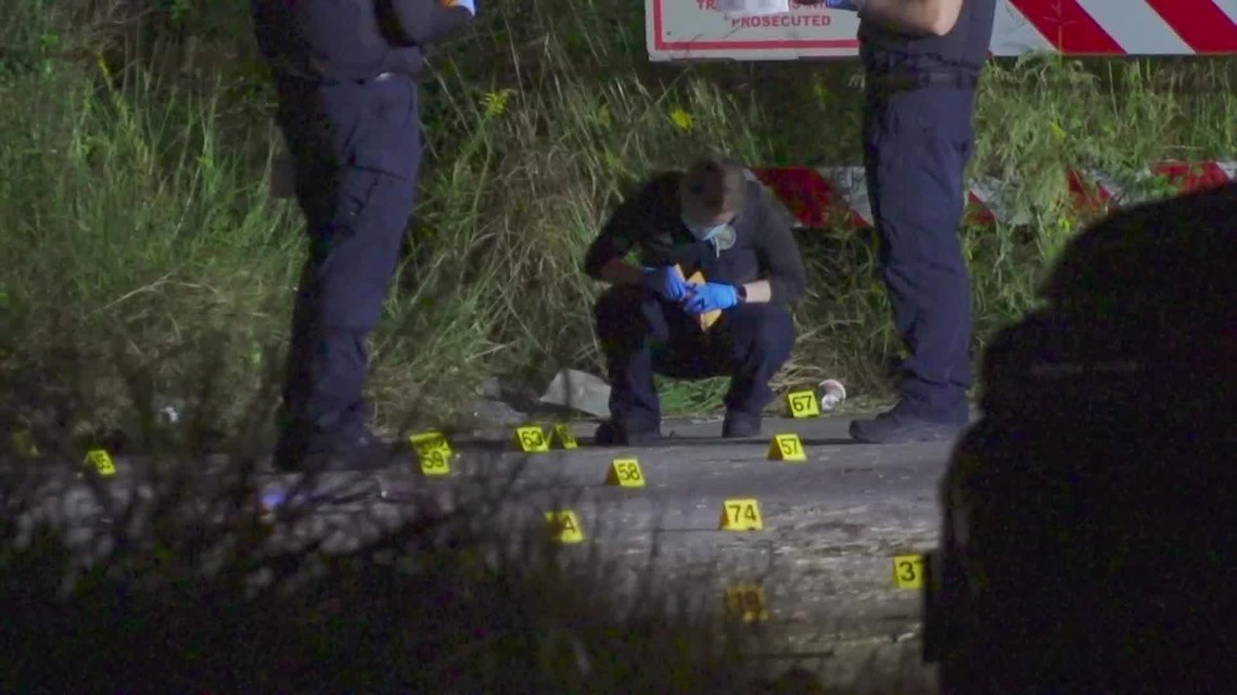Burned body of shooting victim found near FM 1960 in Humble, police say