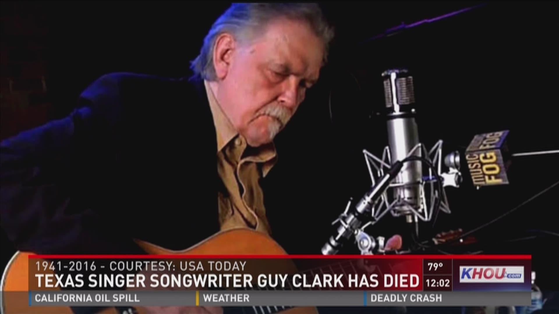 Texas Singer Songwriter Guy Clark Dead At 74 Khou Com