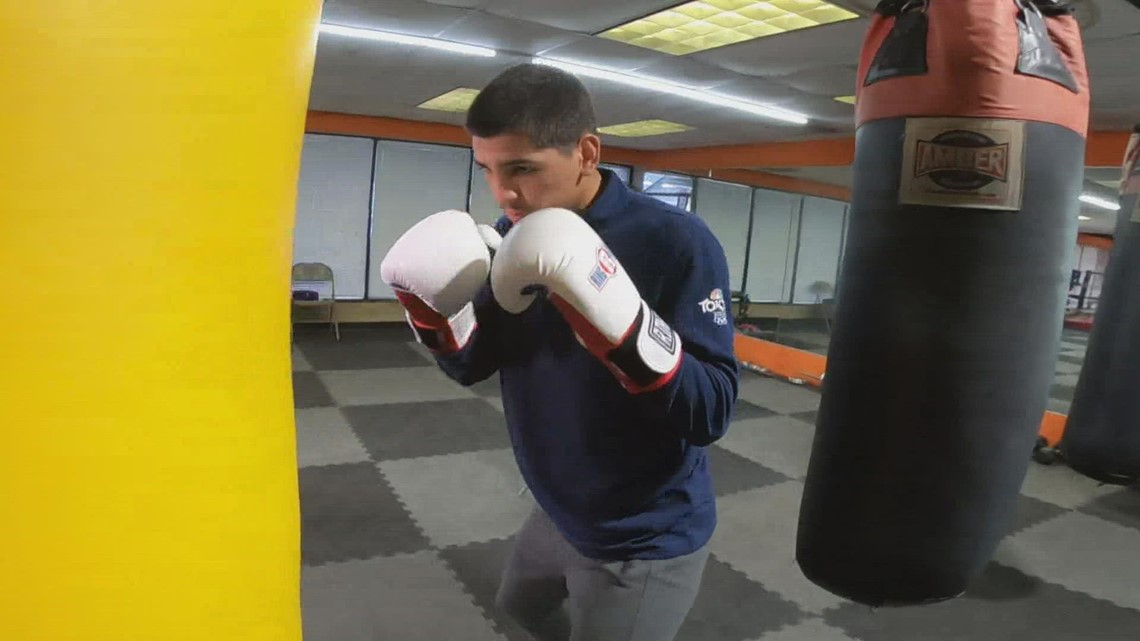 Giovanni Marquez is following in dad's footsteps as a boxing champ