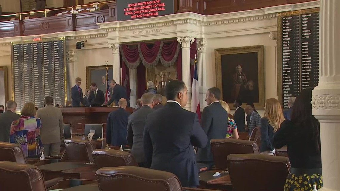 Lawmakers gavel in on first day of third special session in Austin