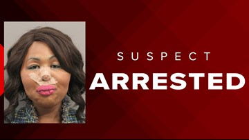 Woman named 'Iconic Facce' arrested in Houston  after allegedly robbing bank  to pay for plastic surgery