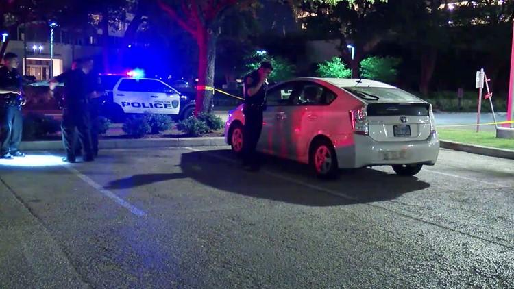 Road rage shooting in Montrose