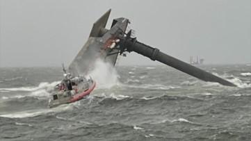 Coast Guard recovers body of another crew member from capsized liftboat off Louisiana coast