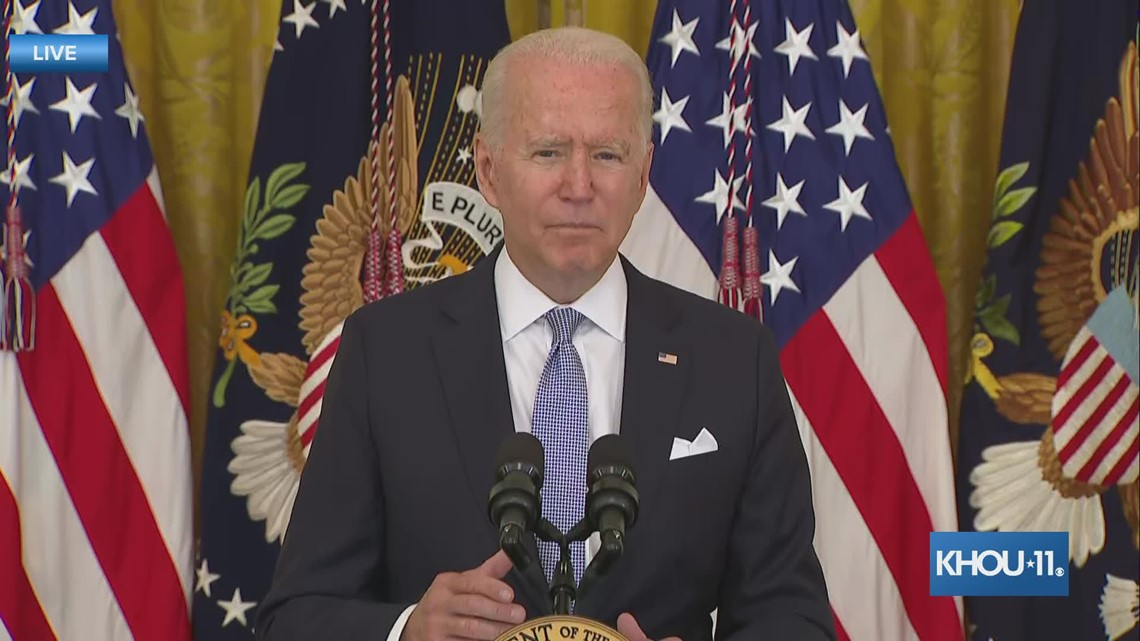 Biden calls on states and local governments to offer incentives for vaccines