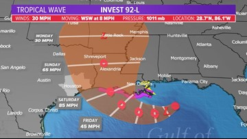 You ask, we answer: Storm in New Orleans, potential impacts to Houston