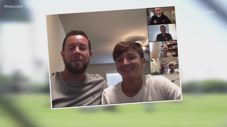 Houston Dynamo sign 15-year-old Juan Castilla