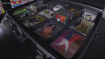 Tomball man collected thousands of Jose Canseco baseball cards